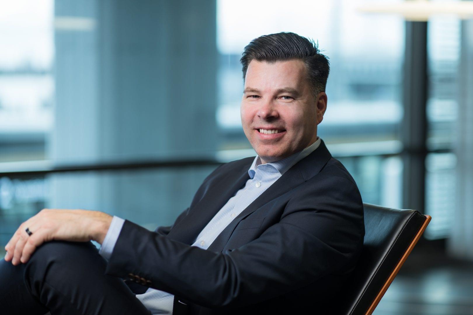 Teollisuusyrittäjä Tuomas Pere on EK:n Yrittäjävaltuuskunnan puheenjohtaja