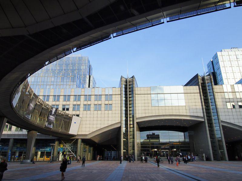 Euroopan parlamentin rakennus Brysselissä