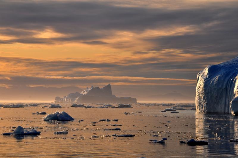 Kuva jäävuoresta