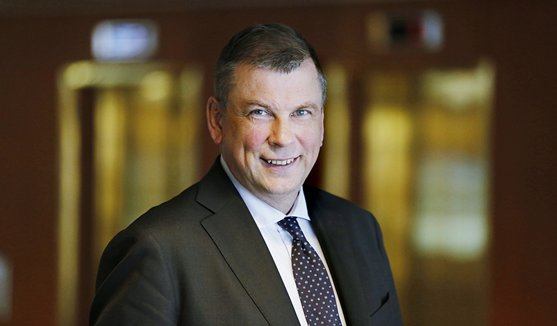 EK:n Työelämä-vastuualueen johtaja Ilkka Oksala