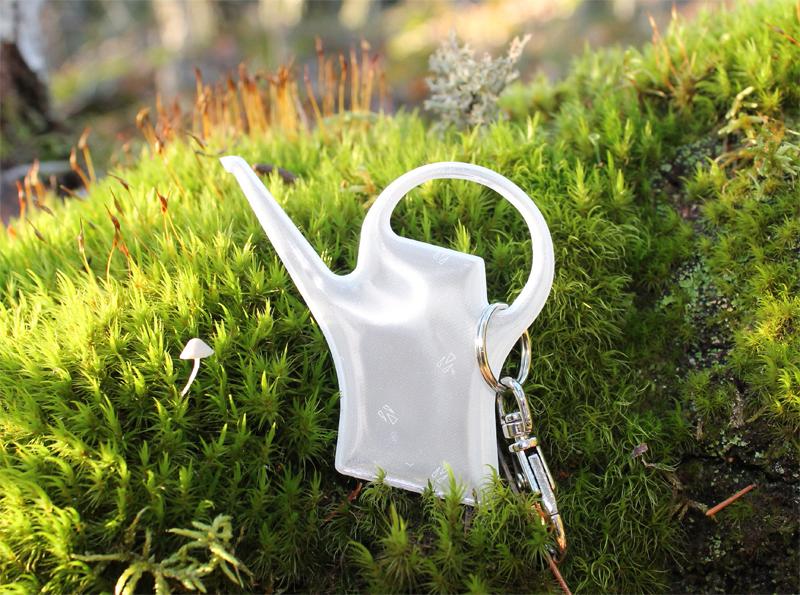 Eero Aarnio on suunnitellut Saintexille Evergreen-heijastimen.