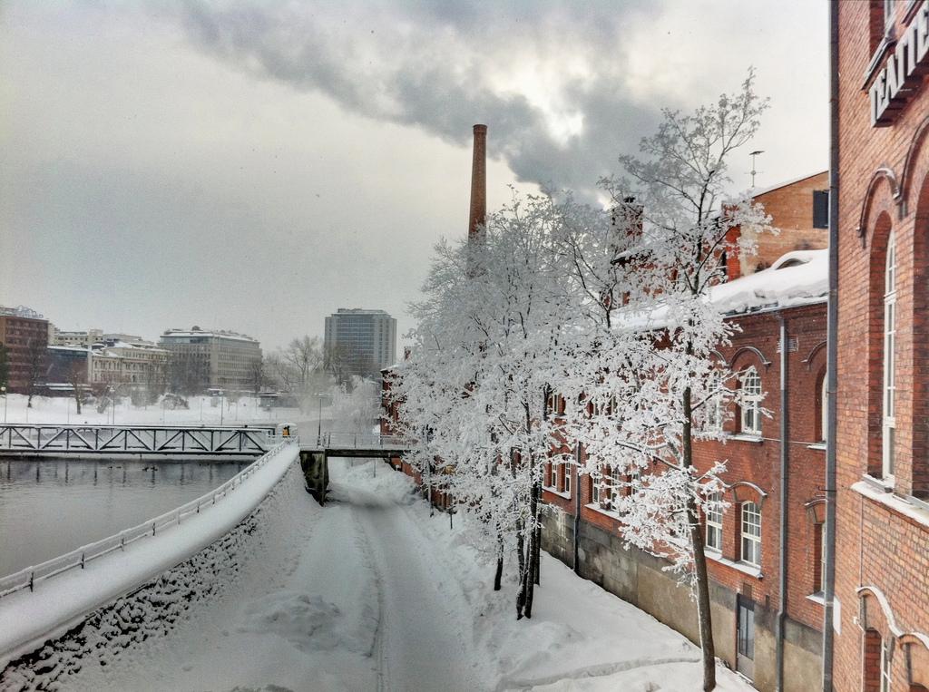 Tampere talvella
