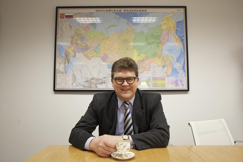 East Officen toimitusjohtaja Raimo Valo löytää Venäjältä vientimahdollisuuksia, joihin suomalaisten pitää tarttua.